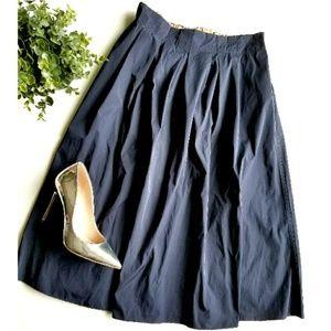 Zara A-line Midi Skirt